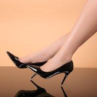 Wholesale Rilihong Women s Shoes Stiletto Heel High Heels Pointed Toe Closed Toe Heels Dress shoes women Black Red White