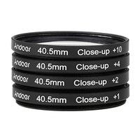 Precio de Cierre conjunto de filtro-Andoer 40.5mm cerca de macro conjunto de filtros 1 2 4 10 con la bolsa para la cámara de Nikon Canon Sony DSLR de D1737