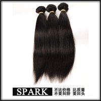 Wholesale Human straight hair African women natural color Malaysian Brazilian ombre deep wave virgin hair
