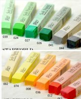 Wholesale temporary hair color pastel top quality hair chalk with fashion paper pack colors set newest hair color products colors for choose