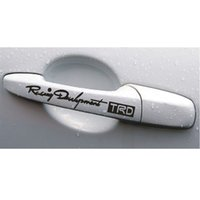Wholesale Hollow TRD handle door handle with TRD car in car a factory direct supply