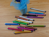 Wholesale Capacitive Screen Pen Stylus Pen Touch Pens For IPAD2 IPHONE4 Cellphone Tablet PC DHL Fedex