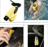 Wholesale New Arrive Car Safety Hammer Mini Hammer Window Break Safety Lifesaving Hammer emergency hammer glass breaker