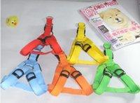 Wholesale Big promotion Hot selling LED Flashing Dog Harness Pet Harness Dog Collar and Leash