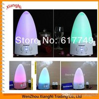 Wholesale NEW Mini Rainbow LED Color Changing Ultrasonic Aroma Air Humidifier Purifier Diffuser For Home Office Car A3