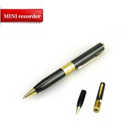 Wholesale Mini HD USB DV Camera Pen Recorder Hidden Security DVR Cam Video Spy pen recorder