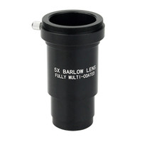 barlow lens telescope - 1 Inch Fully Metal Multi Coated X Barlow Lens M42 Thread For mm Telescopes Eyepiece W2157A