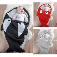 Wholesale Shark sleeping bag Passes On To Shark Multi function Baby Sleeping Bag Lovely Play By Fall And Winter Sleeping wraps Baby Hold By Prevention