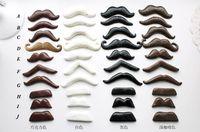 Moda 4pcs bricolaje Photo Booth Atrezzo Moustaches En Una orden de las pistas $ 18Nadie del banquete de boda del palillo AE02106 Navidad