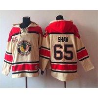 Wholesale 2015 New Player Hockey Hoodies Blackhawks Andrew Shaw White Mens Sportswear Hoodies Best Hockey Uniform Fashion Hockey Jackets for Sale