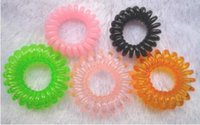 Wholesale Candy color number in the telephone line hair bands hair rope rope sell like hot cakesQ15062401