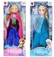muñecos congelados de 11 pulgadas Figura Set de Juego Elsa Anna Juguetes Clásicos congelados Juguetes Muñecas en cuadro