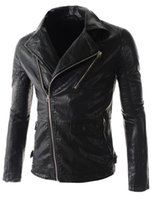aviation leather jackets - Fall Leather Jacket Mens Jackets And Coats Motorcycle Men Casacas Hombres Fur Coat Men Aviation Jacket Biker Couro Masculino