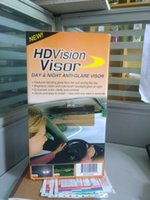 Wholesale Easy View HD Day and night and visor Night vision goggles anti dazzle mirror Car Sun Visor