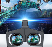 Wholesale 2016 Mini VR Fold D Glasses Movie Game For Google Virtual Reality inch Phone hot selling
