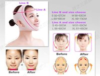 Wholesale Thin face mask face slimming mask face care skin chin face Cheek slimming v line face lift bandage New slim mask anti sag beauty facemask
