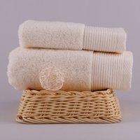 Wholesale s Pure Cotton Towel cm g High Quality Hotel Home Beach Cotton Solid Color
