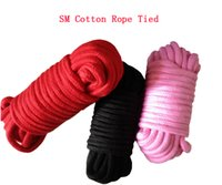 bondage restraints - SM bondage with sex toys cotton rope tied rope tied flirting special restraint lashing