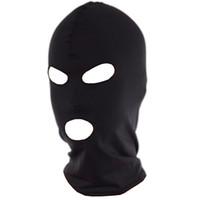spandex fetish - Spandex Hood Mask with Mouth and Eye Opening Fetish Bondage