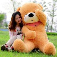 Wholesale 1 pecs New Large Meters Teddy Bear Lovers Big bear Arms Stuffed Animals Toys Plush Doll CM CM CM M CM Sleepy Bear