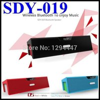 Wholesale Free DHL Original Nizhi SDY HIFI Bluetooth Speaker Sardine FM Radio Wireless USB Amplifier Stereo Sound Box With Microphone