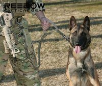Wholesale US Army Tactical Dog Leash Quick Release Heavy Duty Panic Snap Adjustable Dog Leash Military Dog Tactical Leads belt D Nylon