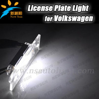 best vw golf - Best Quality Xenon White SMD Car License Plate Light For Volkswagen VW Jetta Caddy Touran T SKODA Superb MK1 U B5 Golf Plus