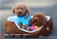 Wholesale Cashmere like soft warm Pet Bed Pet Nest luxury Dog nest Luxury warm round WY131