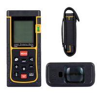 Wholesale DBPOWER M Portable Laser Distance meter Rangefinder Finder Handheld measure instrument With Min in ft