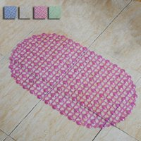 Wholesale Hot Sales Bathroom Carpet Solid Non slip PVC Bathroom Rug Bath Mat For Kitchen Livining Room Toilet Home Supplies JI0080 Kevinstyle