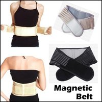 Wholesale Health Care Magnetic Slimming Lower Back Support Waist Lumbar Brace Belt Strap Backache Pain Relief
