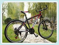 Wholesale 26inch Giant steel mountain bike with shimano speed gear and dual disc brake
