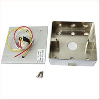 access switch box - e mounted metal integrated access control access control switch out switch button with stainless steel bottom box switch