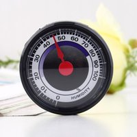 Wholesale 1pc New Portable Mini Accurate Durable Power Free Indoor Outdoor Humidity Hygrometer meter Drop shipping