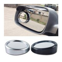 Wholesale 2pcs Car Rearview mirrors round cm blind spot wide angle lens with adjustable secondary high definition