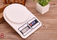 Wholesale 2016 HOT Brand New kg g g Digital kitchen scales Food Diet Postal electronic scale weight Balance LCD display SF