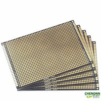 Wholesale High quality DIY breadboard x12 cm double sided universal Pcb DIY PCB Black color