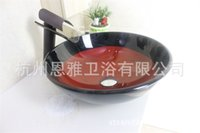 bath glass vanities - Hot models Art glass basin vanity kit bath tub glass basin Ware N