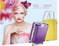 Wholesale 20 inches Large Travel Suitcases for women and men Trolley BagTravel Rolling Luggage Bag Luggage Travel Bag on wheels ABS004