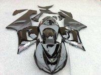 achat en gros de carénages zx6r matte-Kit de carénage de moto pour KAWASAKI Ninja ZX6R 05 06 ZX 6R 636 2005 2006 ZX-6R Mattegloss noir Carénages ensemble SP71