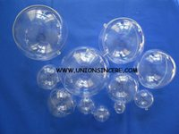 Wholesale cm clear plastic ball fillable ornaments hanging christmas baubles hollow hanging christmas bubble