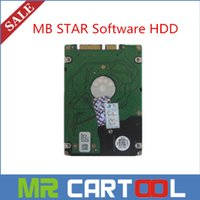 Wholesale 2015 Version MB Star C3 C4 software HDD SD Connect Compact C4 Software GB HDD for DELL D630 External Format