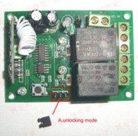 Wholesale 2 Channel Wireless Electric Garage Gate Door Remote Control RF MHz door control international door lock control