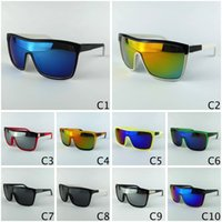 motor cycle - Sports Goggles FLYNN Cycling Fashion Sun Glasses For Mens Sunglasses Motor Race Mirror Lenses Colors