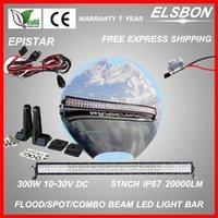 Wholesale Latest W Headlights Led Work Light Flood Spot Combo Mount kit Offroad WD Lamp indicators SUV Boat led light bar L115c