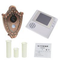 Wholesale 2GB Digital Peephole Doorbell Door Viewer M Night Vision Video Record Home Security