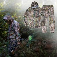 airsoft ghillie suits - D Leaf Yowie Ghillie Suit Jungle Camouflage Hunting Clothes Military Army Combat Camo Suit for Training Airsoft Sniper Painting