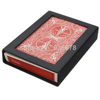 Wholesale Close Up Street Magic Trick Vanish Disappearing Vanishing Cards with Case Box order lt no track