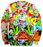 drugs - Drugs weed Hot Men Women Sweatshirt Couples Sweats Unisex Sweatshirt Red Wine D Pullovers cartoon hoodies
