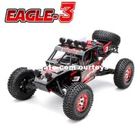 baja racer - New Eagle Scale WD Brushed Rc Car Electric Rock Racer Desert Off Road Truck baja with GHz Radio System RTR